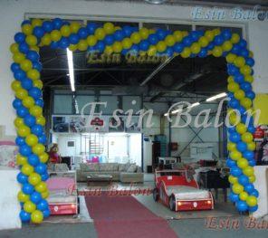 Ataşehir Zincir Balon Süsleme / 0216: 567 81 14