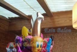 Folyo Uçan Balon Satışı  0216 567 81 14