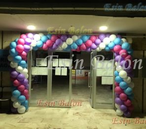 Kartal Zincir Balon Süsleme / 0216: 567 81 14